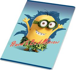 Picture of MINIONS A4 notebook line paper 1-12