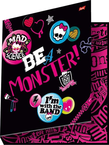 Picture of MONSTER HIGH mapa A4