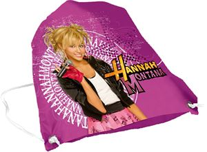 Picture of HANNAH MONTANA bag slippers 32x42 cm