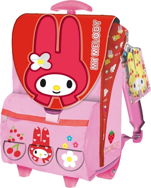 Picture of MY MELODY rolling school backpack