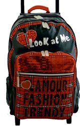 Slika od FASHION ruksak na kotače 42x31x18 cm