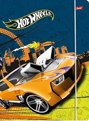 Picture of HOT WHEELS folder A4 with rubber