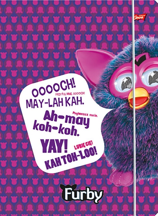 Picture of FURBY folder A4 with rubber