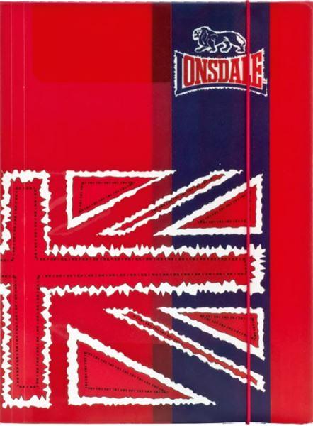 Picture of LONSDALE LION fascikl A4 s gumicom 26x36 cm pvc