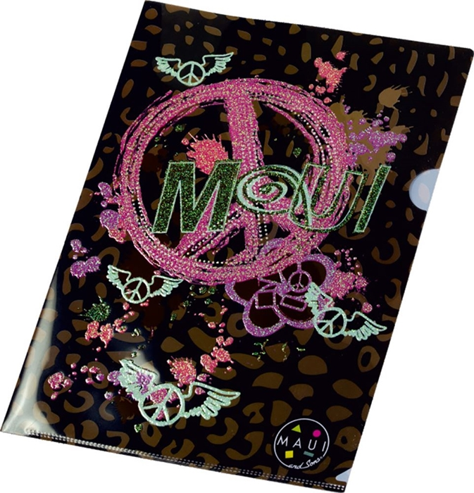 Picture of MAUI PEACE&LOVE folder L pvc