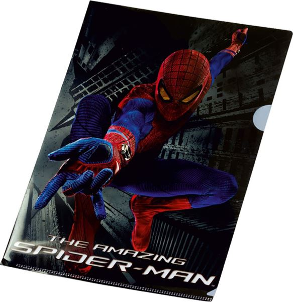 Picture of SPIDERMAN METAL POWER fascikl L pvc