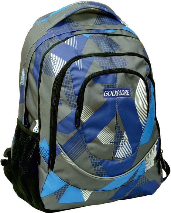 Slika od GO EXPLORE SATURN ruksak plavo-sivi