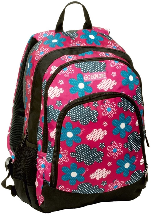 Picture of GO EXPLORE TITAN backpack cvijetni
