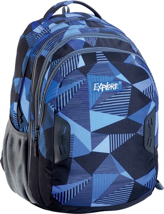 Slika od EXPLORE ruksak 2u1 Blue Triangles