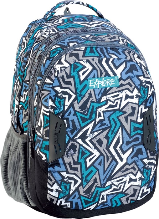 Slika od EXPLORE ruksak 2u1 Blue Zigzag