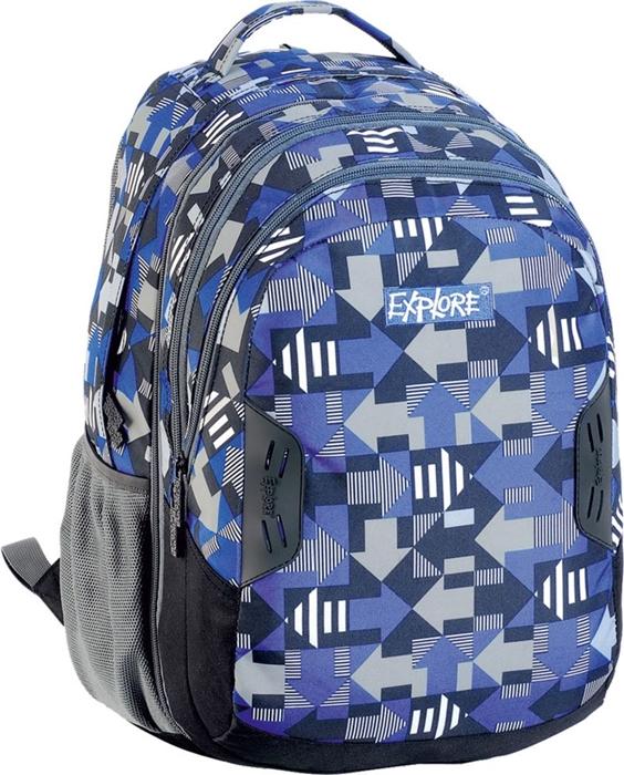 Slika od EXPLORE ruksak 2u1 Blue Arrows