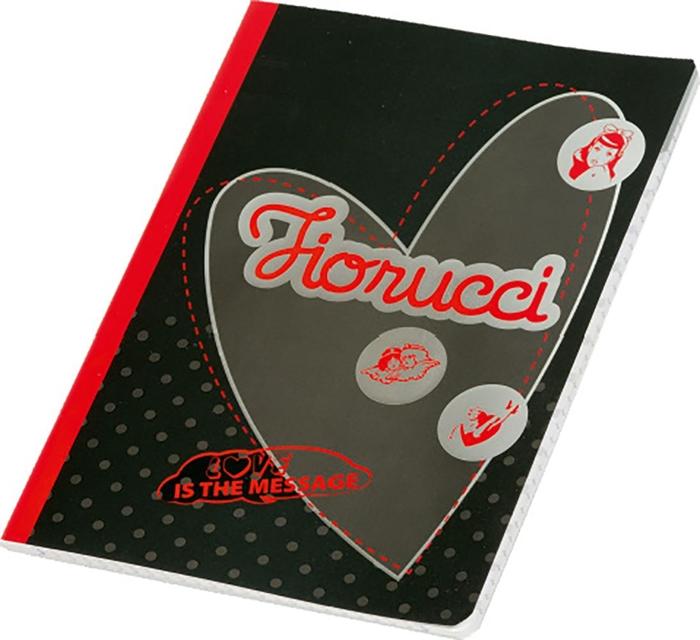 Picture of FIORUCCI FASHION A5 notebook grid paper 1-18