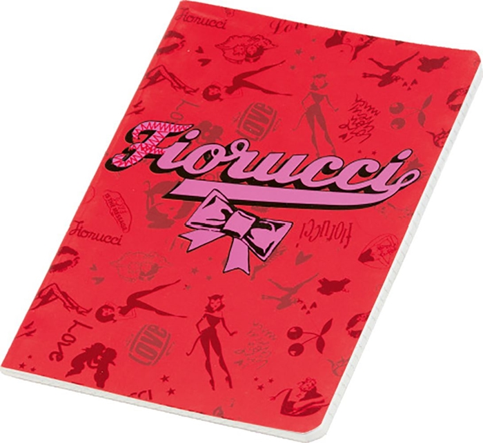 Picture of FIORUCCI GLOSSY A5 notebook grid paper 1-10