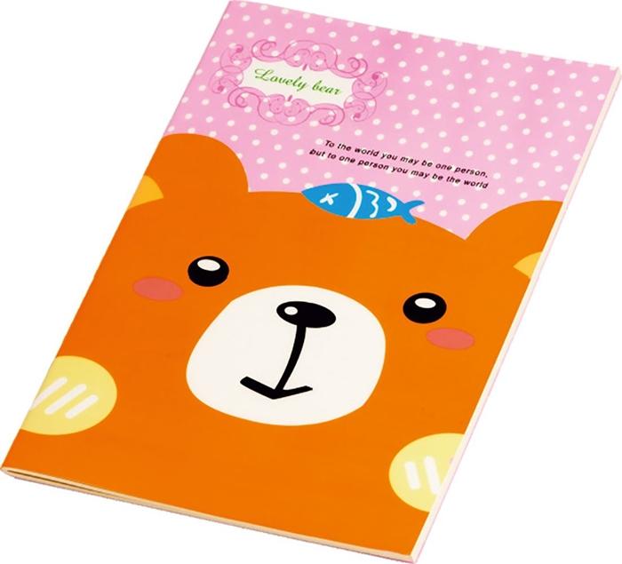 Picture of LOVELY BEAR bilježnica B5 crte 1-10