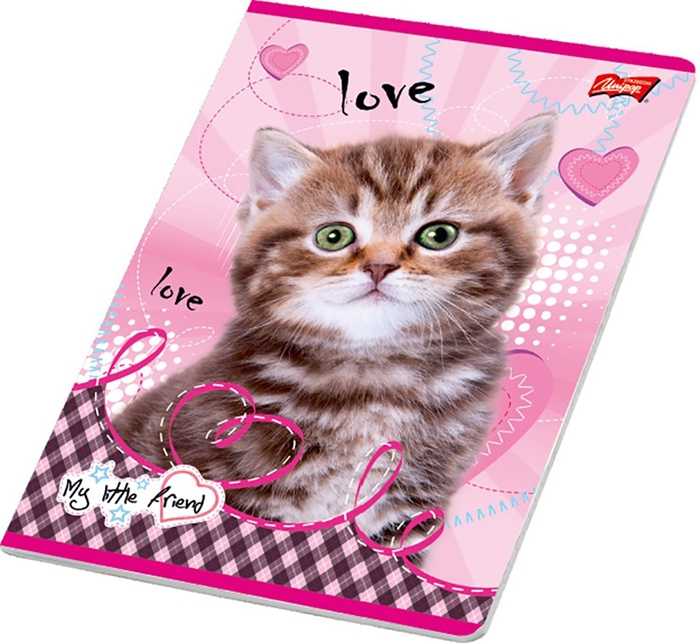 Picture of MY LITTLE FRIEND A4 notebook grid paper 1-12