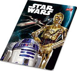 Slika od STAR WARS bilježnica A4 kocke 1-12
