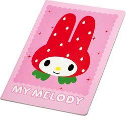 Slika od MY MELODY bilježnica A4 kocke 1-12
