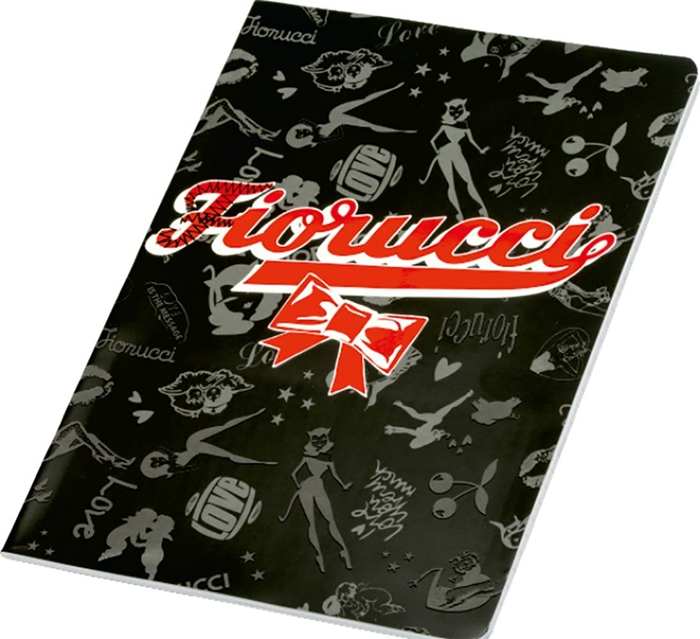 Picture of FIORUCCI GLOSSY A4 notebook line paper 1-10