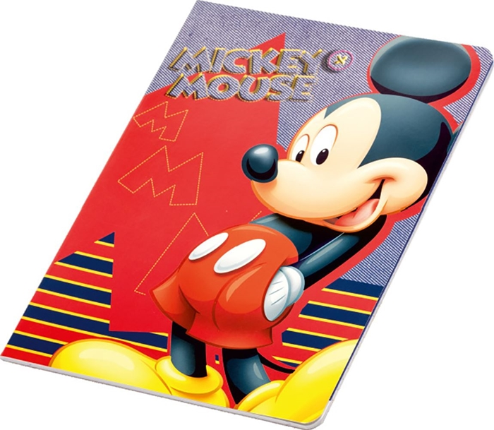 Picture of MICKEY & MINNIE A4 notebook line paper 1-12