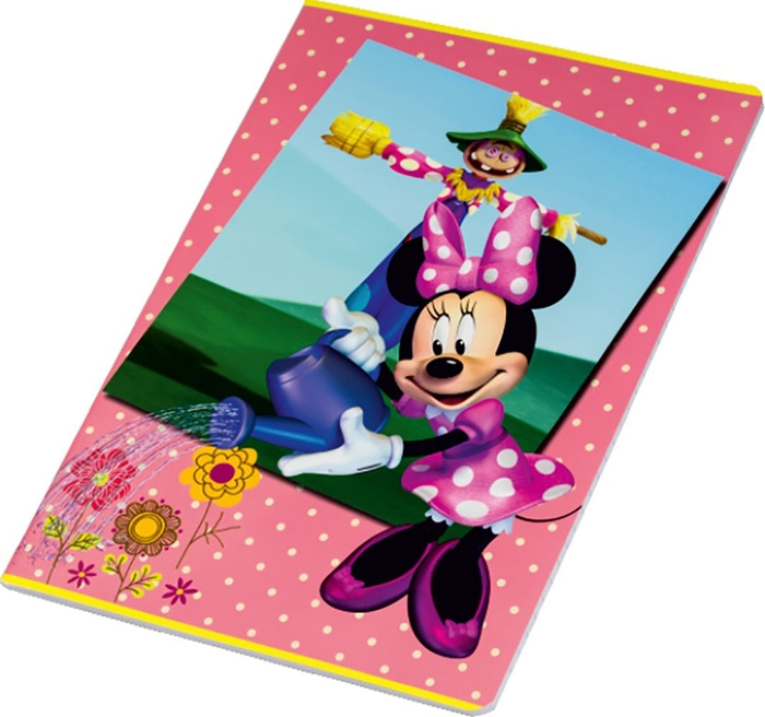 Picture of MINNIE A4 notebook grid paper 1-10 – 100 g paper