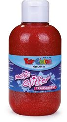Slika od TOY COLOR glitter boja 250 ml - crvena