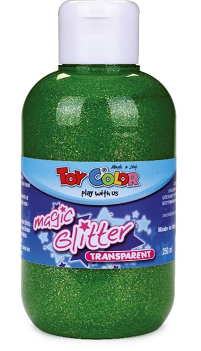 Picture of TOY COLOR glitter color 250 ml - green