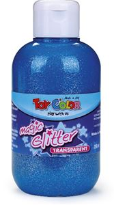Picture of TOY COLOR glitter color 250 ml - blue