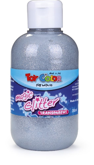Picture of TOY COLOR glitter color 250 ml - silver