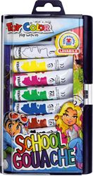 Picture of TOY COLOR tempera colors 12 ml 1-10