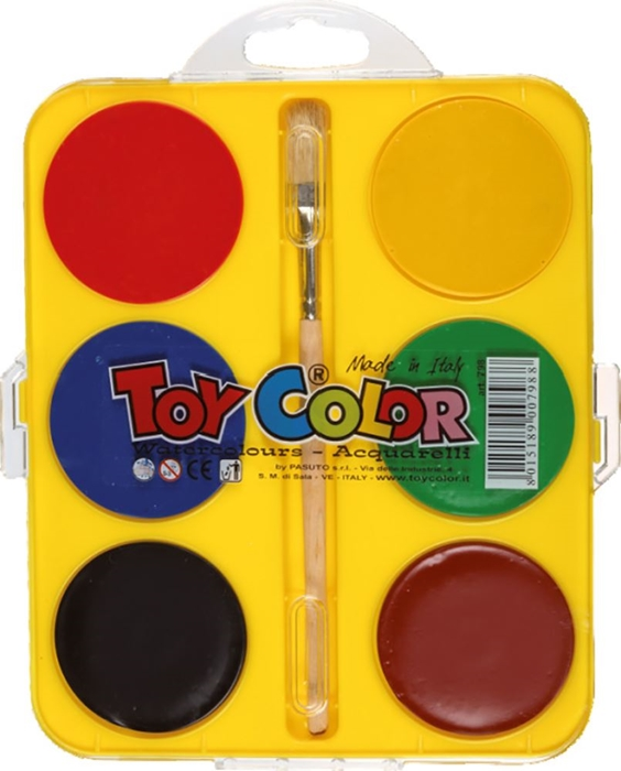 Picture of TOY COLOR maxi watercolor 1-6 diameter 57 mm