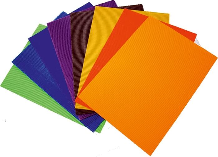 Slika od REBRASTI papir 50x70 cm – 10 sorto listova