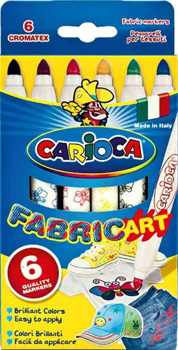 Picture of CARIOCA CROMATEX 1-6 Color Pen for textiles