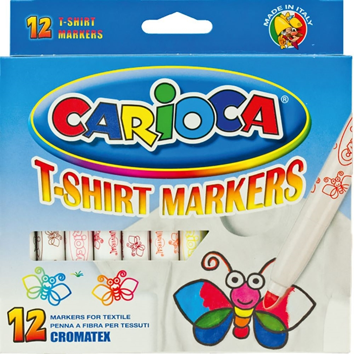 Picture of CARIOCA CROMATEX 1-12 Color Pen for textiles