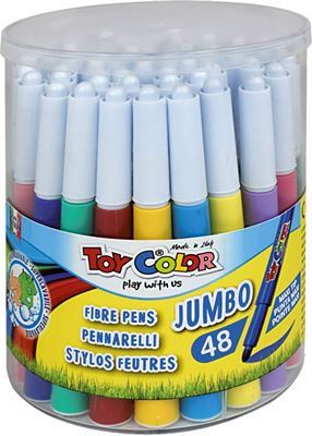 Picture of TOY COLOR JUMBO superwashable Color Pen 1-48