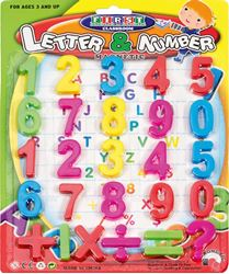 Picture of MAGNETIC numbers 1-26