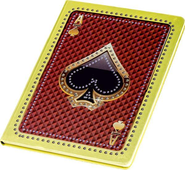 Picture of BILJEŽNICA A4 crte – tvrde korice – 3D efekt – metalic