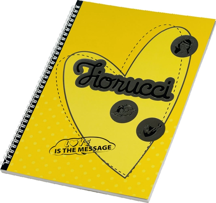 Picture of FIORUCCI FASHION spiral notebook A4 grid paper – 60 sheets