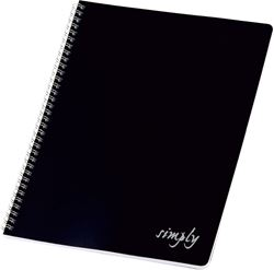 Picture of SPIRAL notebook s PVC cover A4 grid paper – 60 sheets