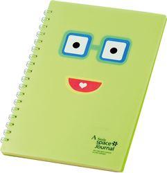 Slika od SPIRALNA bilježnica Happy face – B5 crte, 80 listova
