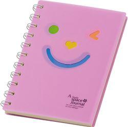 Slika od SPIRALNA bilježnica Happy face – A5 crte, 80 listova