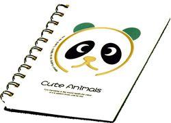 Slika od SPIRALNA bilježnica Cute animals A6 crte, 90 listova