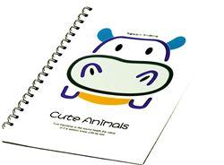 Slika od SPIRALNA bilježnica Cute animals B5 crte, 90 listova