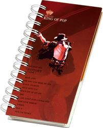 Picture of SPIRAL notepad Michael Jackson 17,5x10 cm