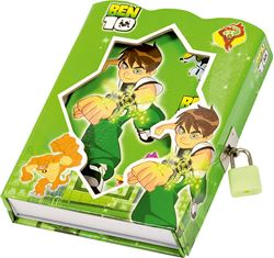 Picture of Ben 10 DIARY with lock and key 17x12, 5 cm