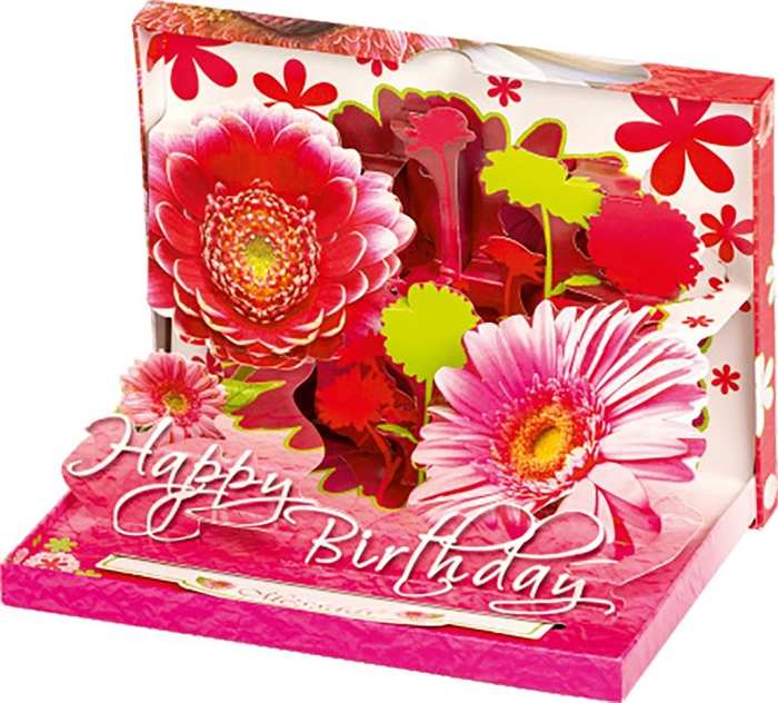 Picture of GREETING CARD 3 D Flower