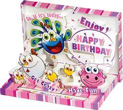 Slika od ČESTITKA 3 D Is today your birthday?