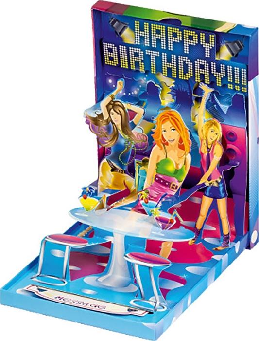 Slika od ČESTITKA 3 D It's time to celebrate your day