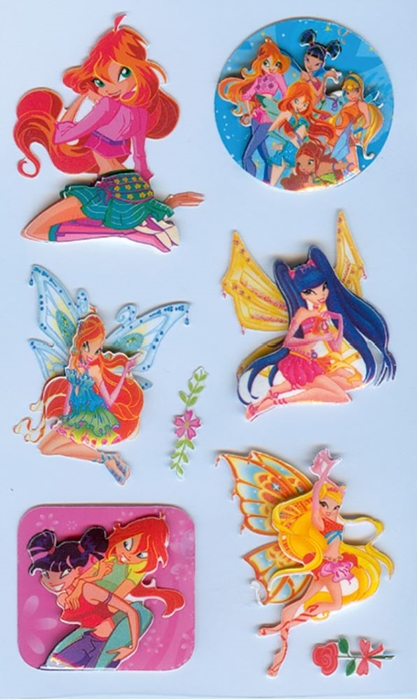 Picture of STICKERS Winx 24-1