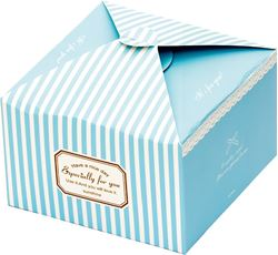Picture of GIFT BOX folding 14,5x14,5x9 cm