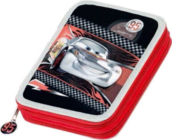 Picture of CARS double tier pencil case